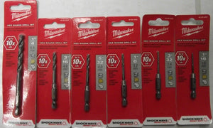 Milwaukee 48-89-4413-6 6pc Shockwave Drill Bit Set