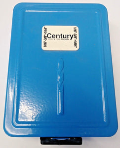 Century 28403 Empty 21 Piece Metal Index Drill Bit Set (CASE ONLY) Germany