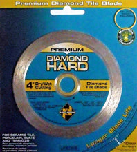 "Planet Diamond 22104020 4"" Continuous Rim Diamond Saw Blade"