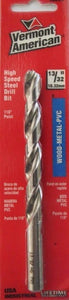 "Vermont American 10226 13/32"" High Speed Steel Drill Bit USA"