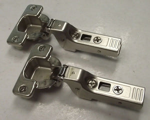 Blum 71T9680 Clip-top 95º Thick Door Hinge Partial Overlay/Self-Closing 2pcs.