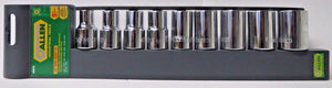 "Allen 66641G 1/2"" Drive Socket Set 9 Pieces SAE"