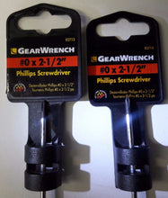 "Gearwrench #0 x 2-1/2"" Phillips Screwdriver 82713 2PCS"
