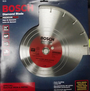"Bosch DB1467 Premium Plus 14"" Wet Cutting Segmented Diamond Saw Blade"