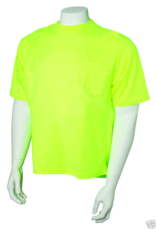 Jackson Safety 3014842 T-shirt Cooldry Hi Perf Lime 5X
