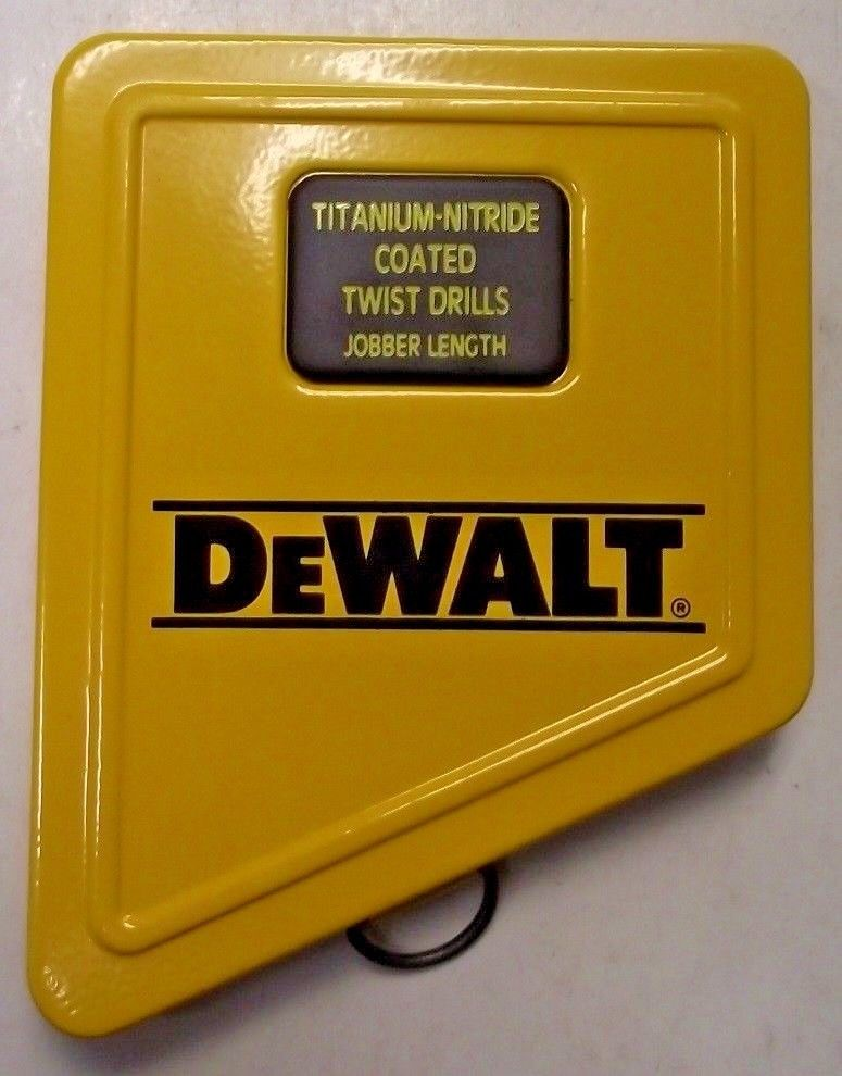 Dewalt AP53313D 13 Piece Metal Index Drill Bit Set CASE ONLY