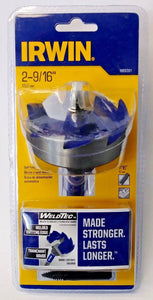 "Irwin Weldtec 1869391 2-9/16"" Self-Feed Bit With Replaceable Tip Included"