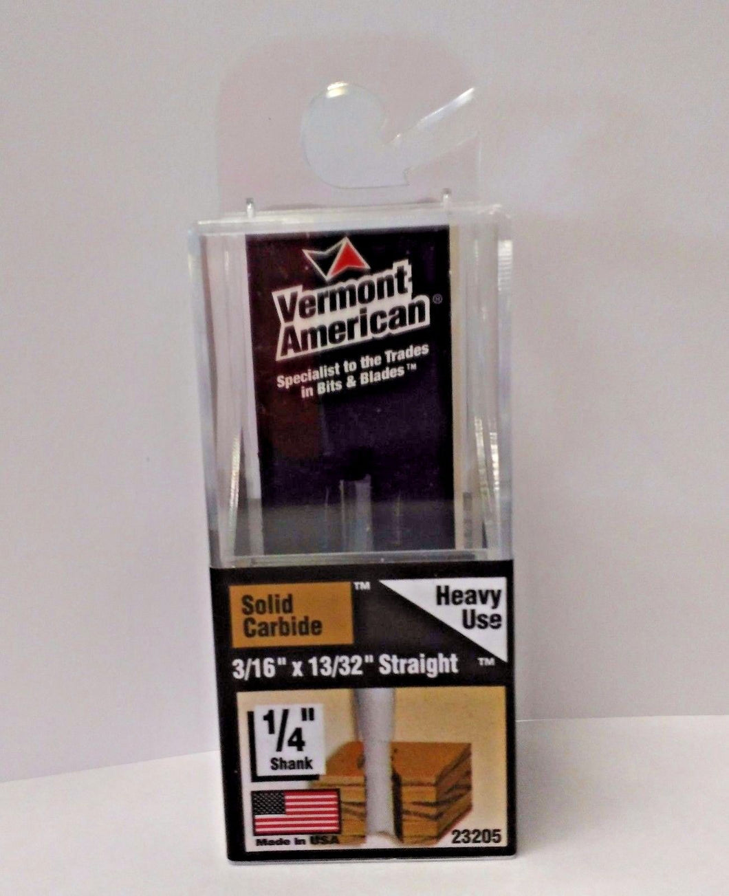 Vermont American 23205 3/16 x 13/32 Carbide Router Bit USA