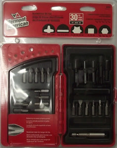 Vermont American 02291 30 Piece Screwdriver Bit Set