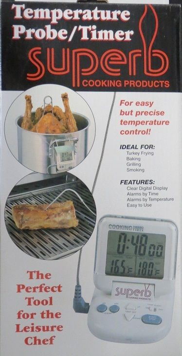 Empire STP-1 Barbeque Cooking Temperature Probe/Timer