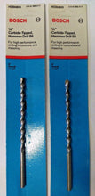 "BOSCH HDB0805 1/4"" x 4"" x 6"" Carbide Hammer Drill Bit Germany 2PKS"