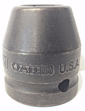 "Allen 36113 11/16"" x 3/4"" Drive Impact Socket 6 Point USA"