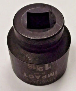 "Armstrong 21-150 1-9/16"" 3/4"" Drive 12 Point Impact Socket USA"