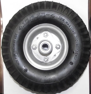 "10"" x 3"" FIlled No Flat Wheel 5/8"" Axle Use For Hand Truck Wheelbarrow ETC 1012"