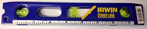 "Irwin Straight-Line 2035100 9"" Cast Aluminum Torpedo Level"