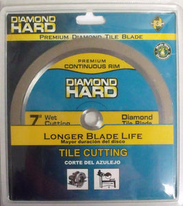"Planet Diamond 21507020H 7"" Premium Continuous Rim Diamond Saw Blade"