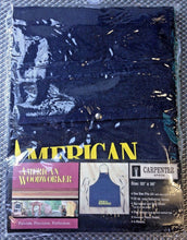 "American Woodworker 120 Denim Carpenter Shop Apron Size 25"" x 26"""