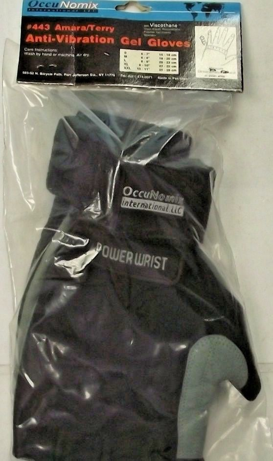 Occunomix 443-066 Anti-Vibration Gel Gloves XXL