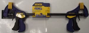 "Irwin 54122 Mini Bar Clamp 12 "" One-Handed 2-7/16"" Throat"