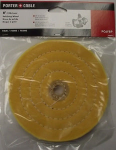 "Porter Cable PC6FBP 6"" Buffing And Polishing Pad Firm"
