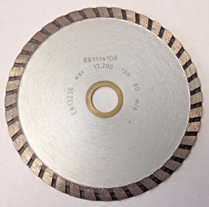 "Vermont American 4-1/2"" Turbo Diamond Saw Blade 2610956753"