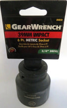 Gearwrench 84850 39mm 3/4in Dr Impact Socket 6 PT