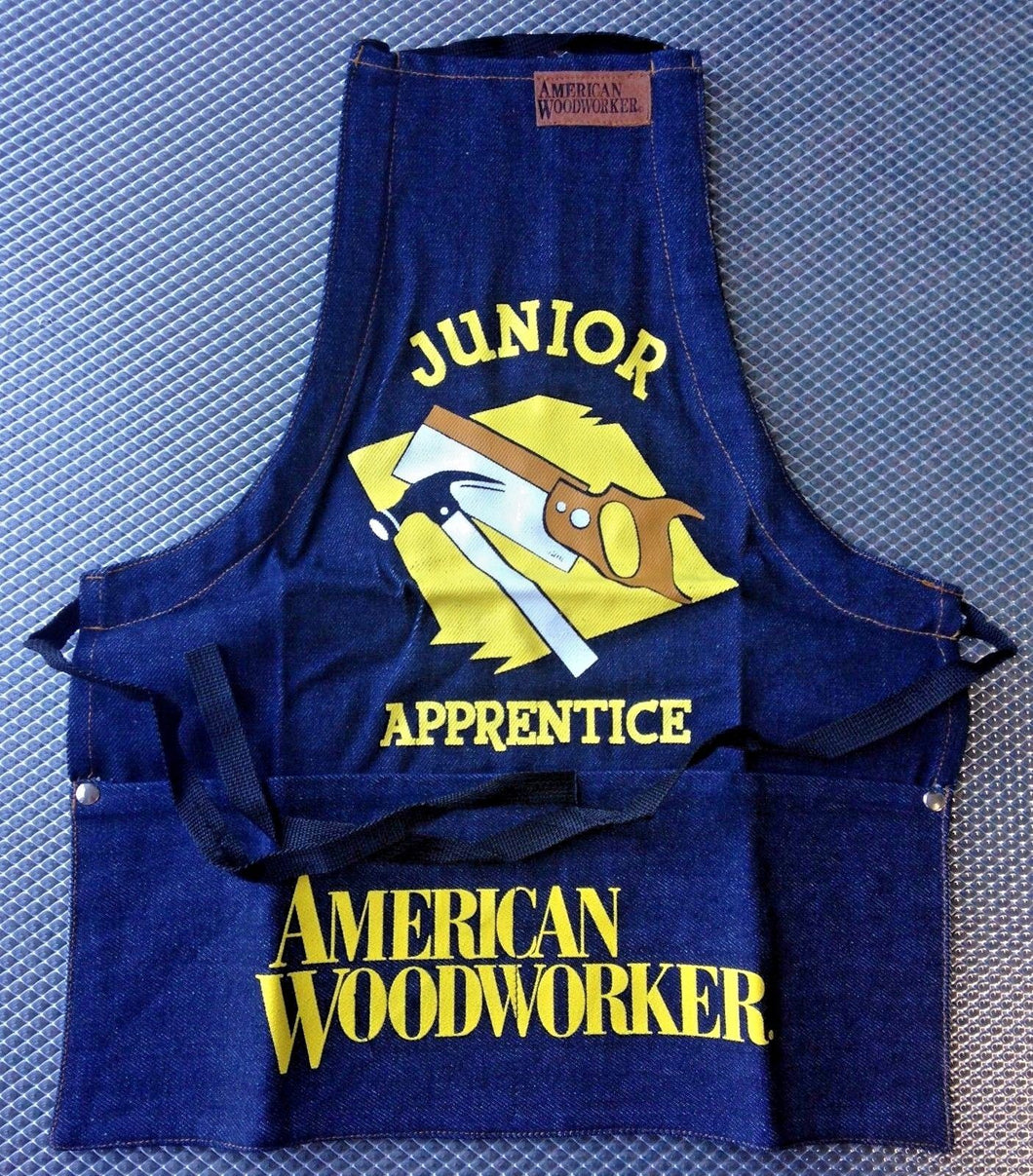 American Woodworker 113 JR. Bib Shop Apron 18
