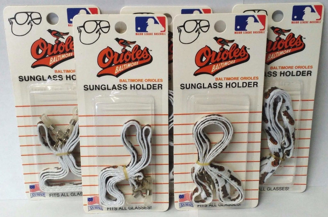 Baltimore Orioles 1315 Sunglass Holders Fits All Glasses 5pcs. USA