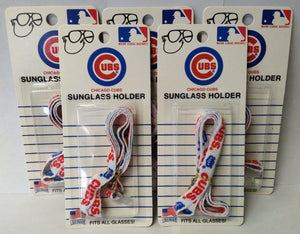 Chicago Cubs 1307 Sunglass Holders Fits All Glasses 5pcs. Packaged USA