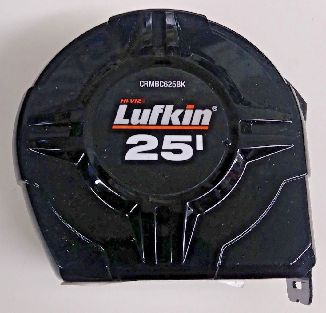 Lufkin CRMBC625BK 25' Black Power Tape Measure Bulk