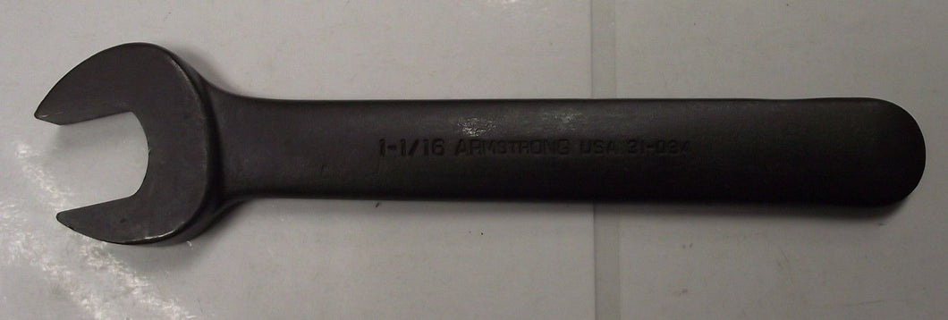 Armstrong Tools 31-034 Single Head Open End Wrench 1-1/16
