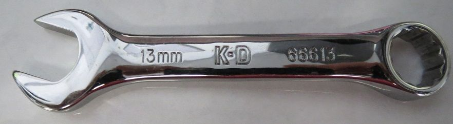 KD Tools 66613 13mm 12 Point Combination Wrench USA