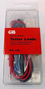 Gardner Bender RTL-105 Replacement Tester Leads For GCM-306 GCM-307