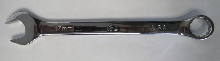 KD Tools 63517 12pt 17mm Wrench Polish Combination USA