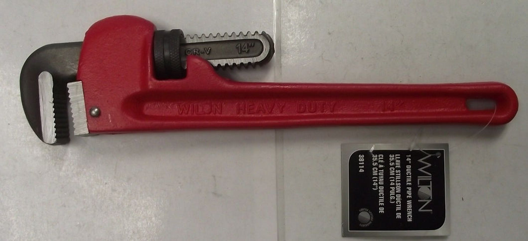 Wilton 38114 14-Inch Ductile Pipe Wrench