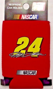#24 Jeff Gordon NASCAR Neoprene Collapsible Can Hugger