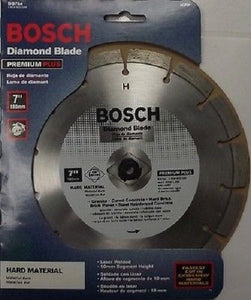 "Bosch DB764 Premium Plus 7"" Dry or Wet Cutting Segmented Diamond Saw Blade Swiss"