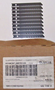"Vermont Jig Saw Blade 2-3/4"" 10TPI 10pc 9030023 Switzerland Bulk Unmarked"