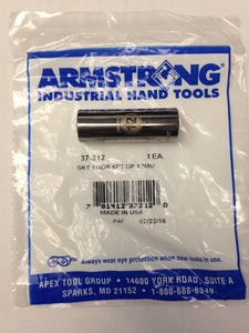 "Armstrong 37-212 1/4"" Drive 6 Point Deep Socket 12mm USA"