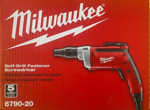 Milwaukee 6790-20 Corded Self-Drill Fastener Screwdriver 6.5 Amp 2500 RPM