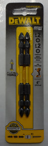 "Dewalt DWA4PH2DEIR2 Impact Ready #2 Phillips x 4"" Double Ended Screw Tips"