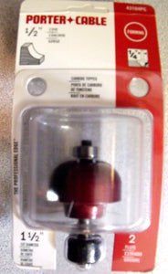 "Porter Cable 43104PC 1/2"" Cove Router Bit 1/4 Shank"