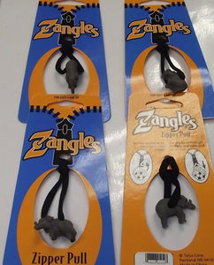 Zangles Elephant Zipper Pulls  4pcs Great For Luggage Or Backpacks