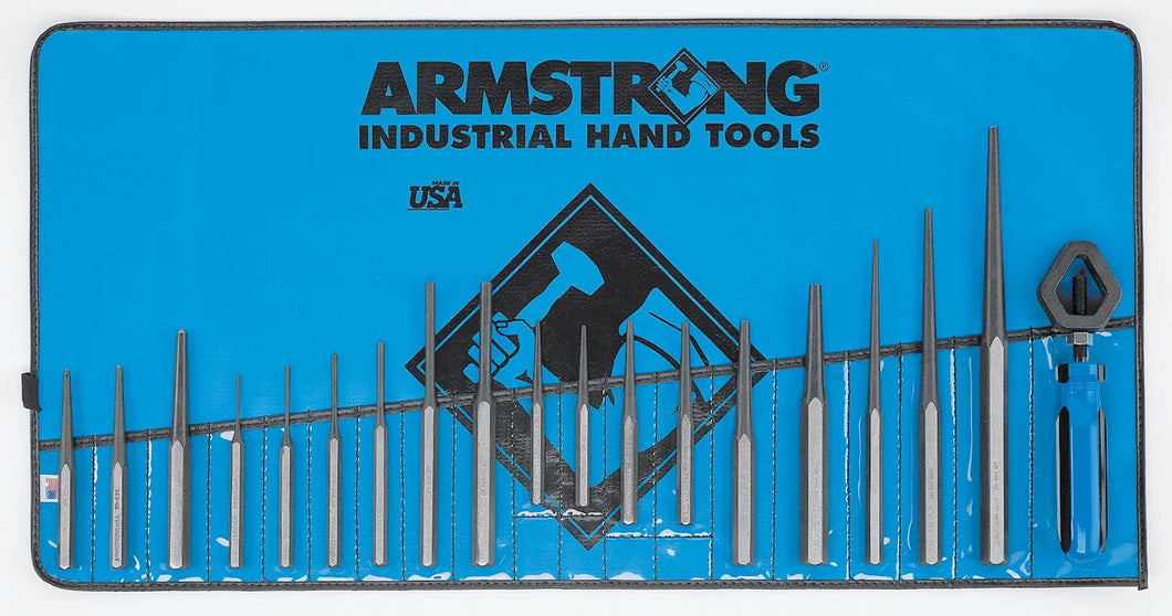 Armstrong 70-550 PAK 19 Piece Punch And Chisel Set USA