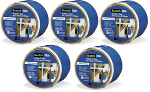 3M ScotchBlue 2090-CM Multi-Surface Painters Tape For Corners & Hinges (5 Rolls)