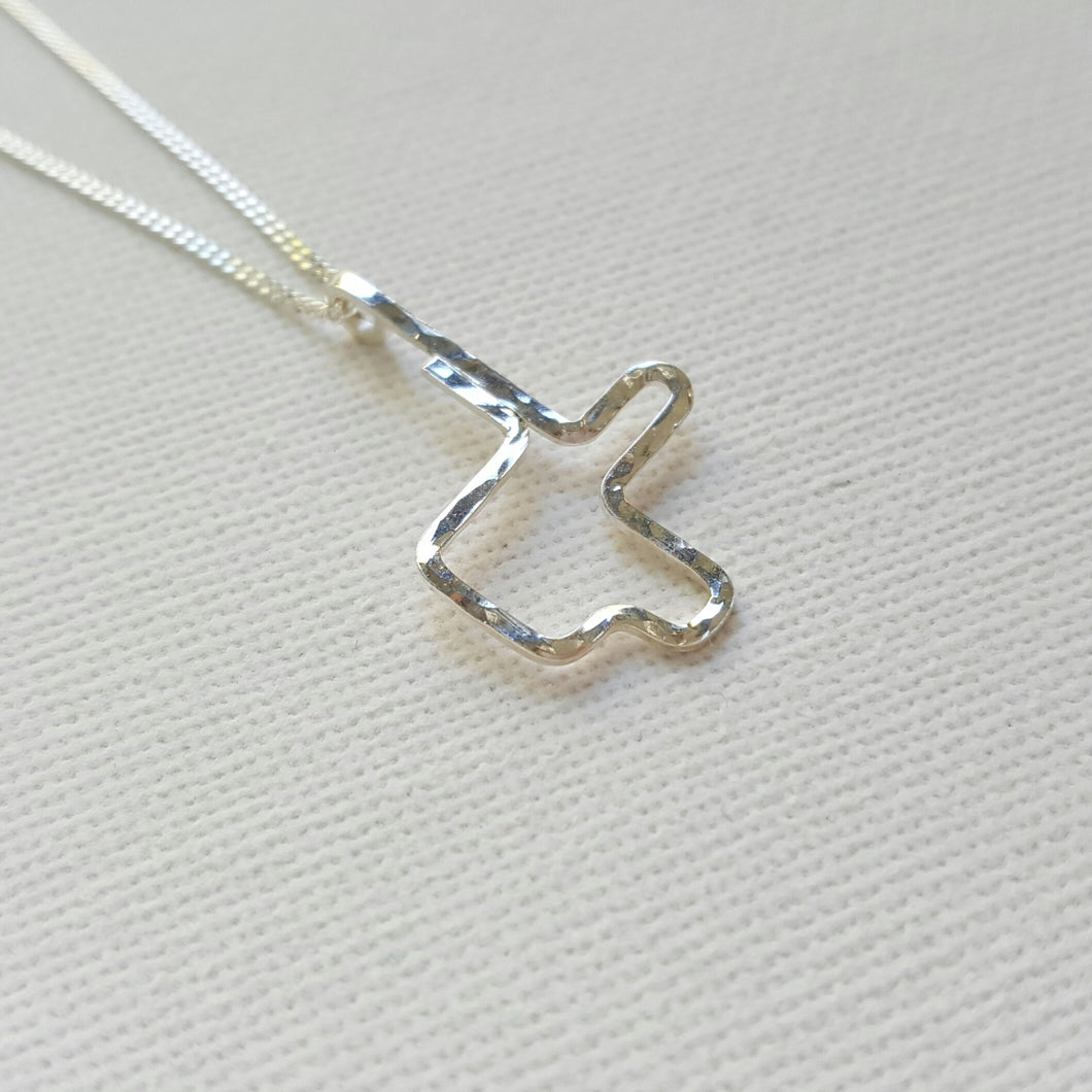 #92 Collier en argent Ginger