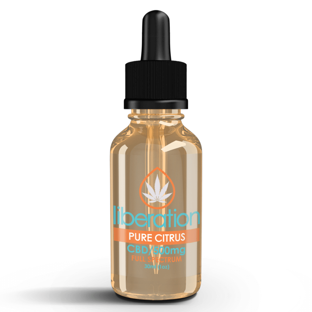 Pure Citrus CBD Oil - Liberation Products