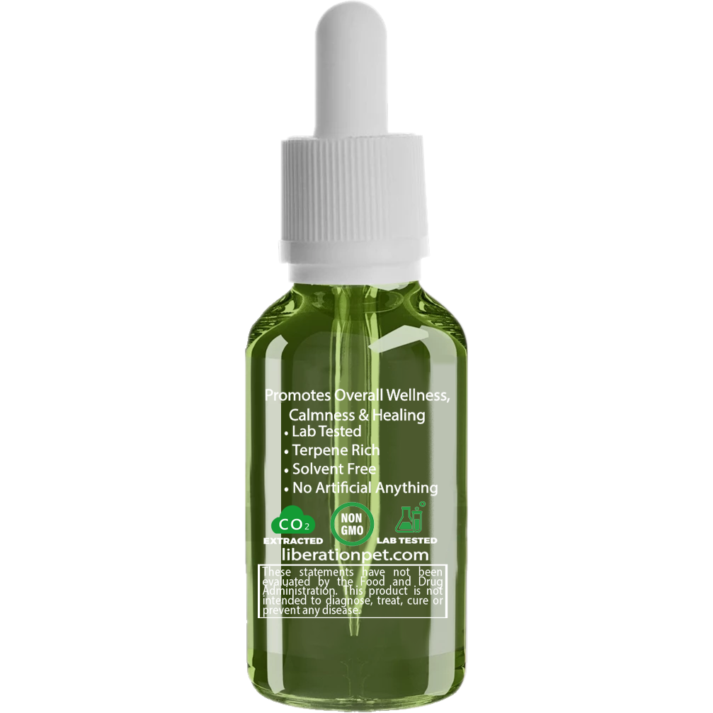 Pure Pet Hemp Oil