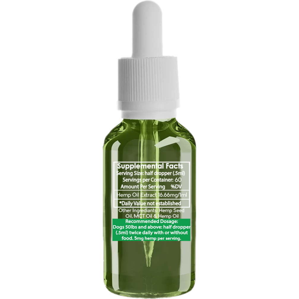 Pure Pet Hemp Oil  - Large Breed