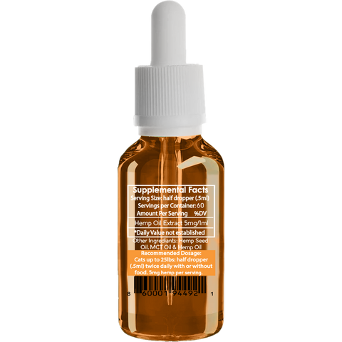 Image of Purr Pet - Hemp Oil for Cats